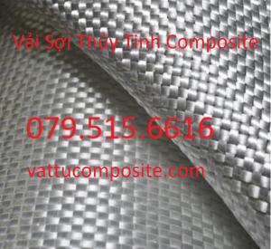 Vải sợi thủy tinh - Sợi Rovin - vật liệu composite - Chống Cháy