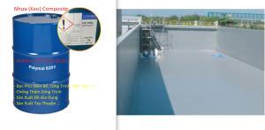 Nhựa Composite Polyester 8201 - Keo Composite - Vật Liệu Composite Chống Thấm, Bọc Phủ Công Trình, Nhà Xưởng, Nền, Sàn, Bồn Bể, Tàu Thuyền
