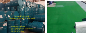 Nhựa Composite, Sợi Thủy Tinh vật liệu chống thấm bọc phủ nền, sàn composite
