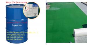 Nhựa Composite (sợi thủy tinh) Chống Thấm Bọc Phủ Công Trình, Bồn Bể
