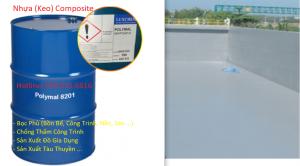 Nhựa Composite, Keo Polyester (8201, 8200, 8122, 8202), Sợi Thủy Tinh - Vật Liệu Composite Chống Thấm, Bọc Phủ Công Trình, Nhà Xưởng, Nền, Sàn, Bồn Bể, Tàu Thuyền