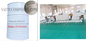 Nhựa Polyester 8122 CF - Keo Composite 8122 CF - Vật Liệu Composite Bọc Phủ, Chống Thấm Công Trình, Nền, Sàn, Bồn Bể, Tàu Thuyền