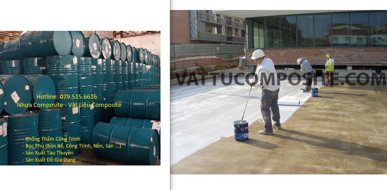Tổng Kho Vật Liệu Composite, Nhựa Composite, Keo Composite, Sợi Thủy Tinh, Silicone, Vật Liệu Chống Thấm Giá Tốt Nhất, Vật Liệu Chống Thấm Nhà Vệ Sinh, Sàn, Trần, Mái, Tường, Sân Thượng, Bồn Bể, Tàu Thuyền, Công Trình Giá Tốt Nhất – Vật Liệu Composite: Nhựa Composite, Sợi Thủy Tinh, Nhựa Composite, Vật Liệu Composite Bọc Phủ Chống Thấm Bồn Bể – Công Trình