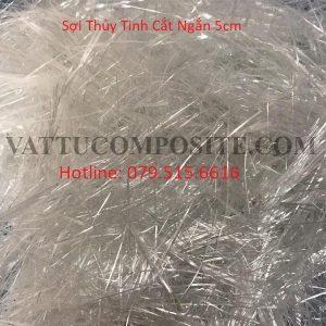 Sợi Thủy Tinh Cắt Ngắn 50mm - Gia Cường Bê Tông, Thạch Cao