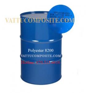 Nhựa Polyester 8200, Nhựa Composite - Keo Composite 8200 - Bọc Phủ, Chống Thấm Công Trình, Nền, Sàn, Bồn Bể, Tàu Thuyền