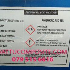 Acid Phosphoric H3PO4 85%, Axit Photphoric