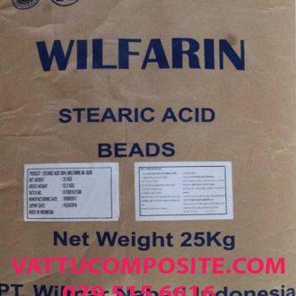 Acid Stearic CH3(CH2)16COOH, Axit Stearic – Axit Béo Stearic 1838