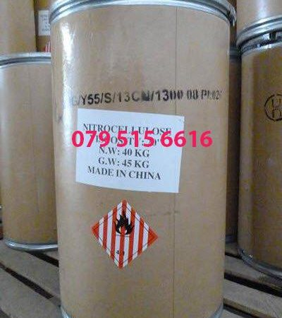 Nitro Cellulose [C6H7(NO2)3O5]n, Cellulose Nitrate 120 RS, 5S, 1/2 RS, 1/4 RS, 800 RS - Hóa Chất Công Nghiệp Giá Tốt