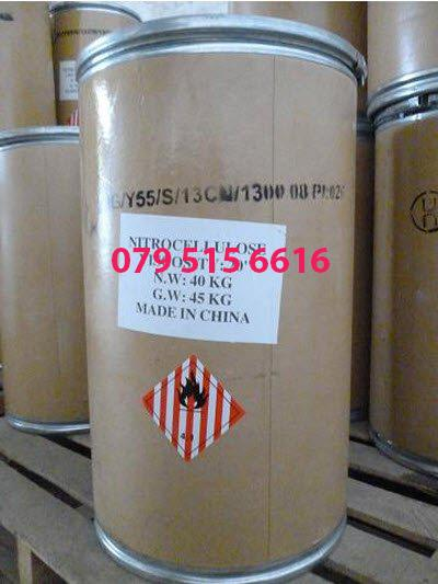 Nitro Cellulose [C6H7(NO2)3O5]n, Cellulose Nitrate 120 RS, 5S, 1/2 RS, 1/4 RS, 800 RS – Hóa Chất Công Nghiệp Giá Tốt