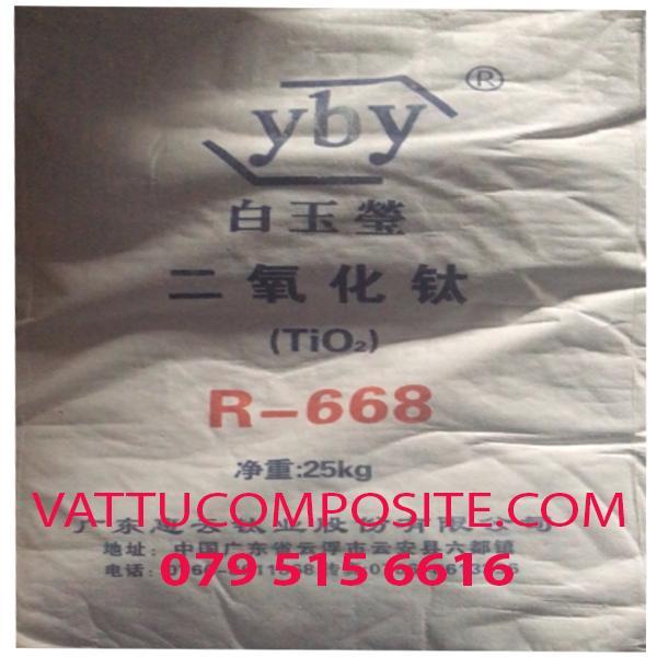Titanium Dioxide TiO2 R-668, Titan Oxit – Hóa Chất Công Nghiệp Giá Tốt